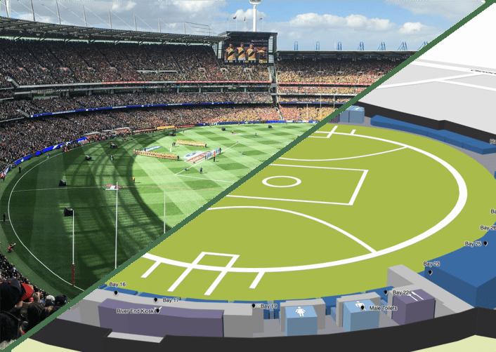 stadium split