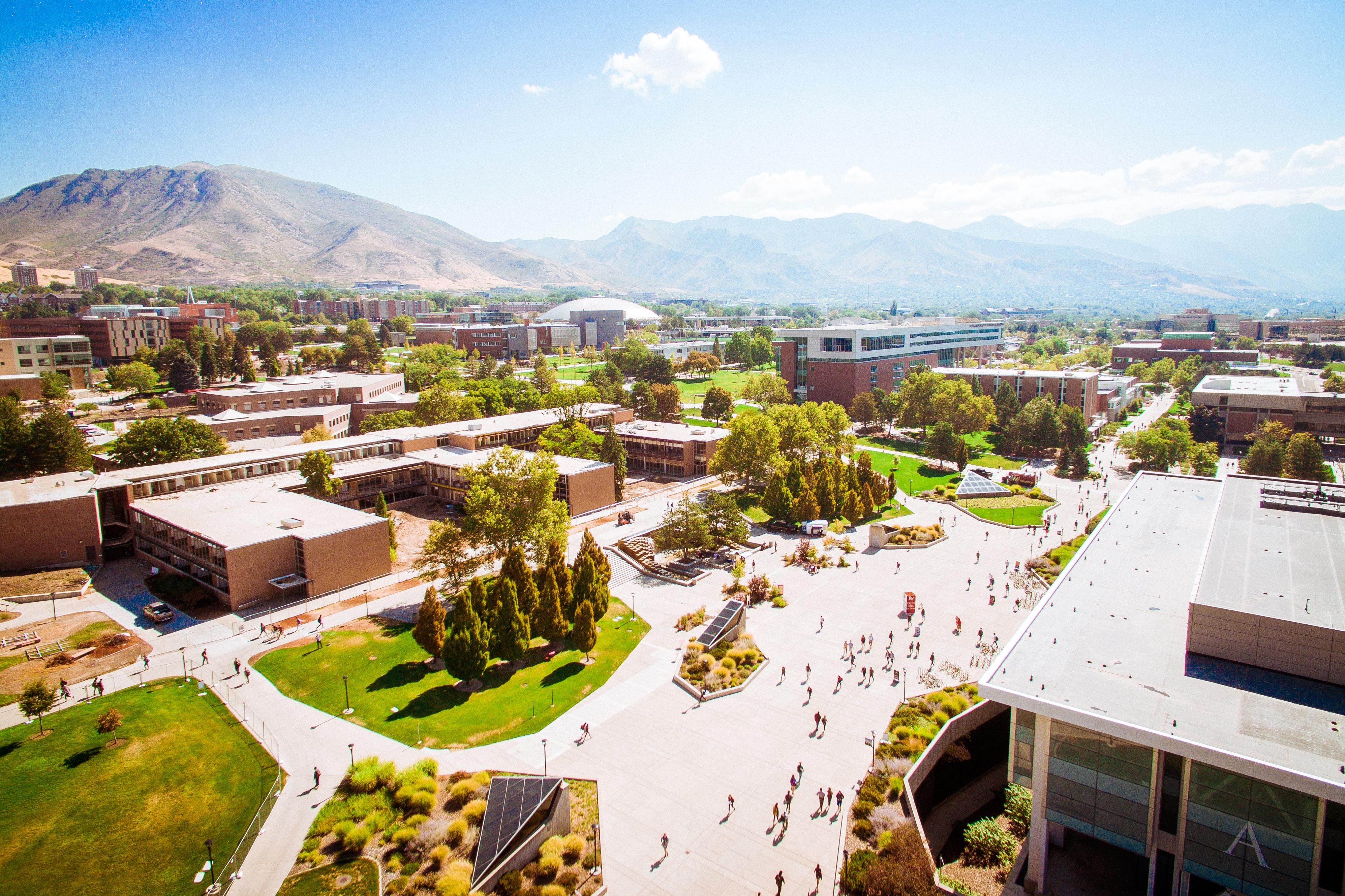 college university campus