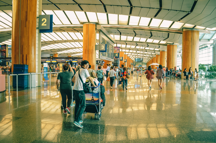 Navigating an airport