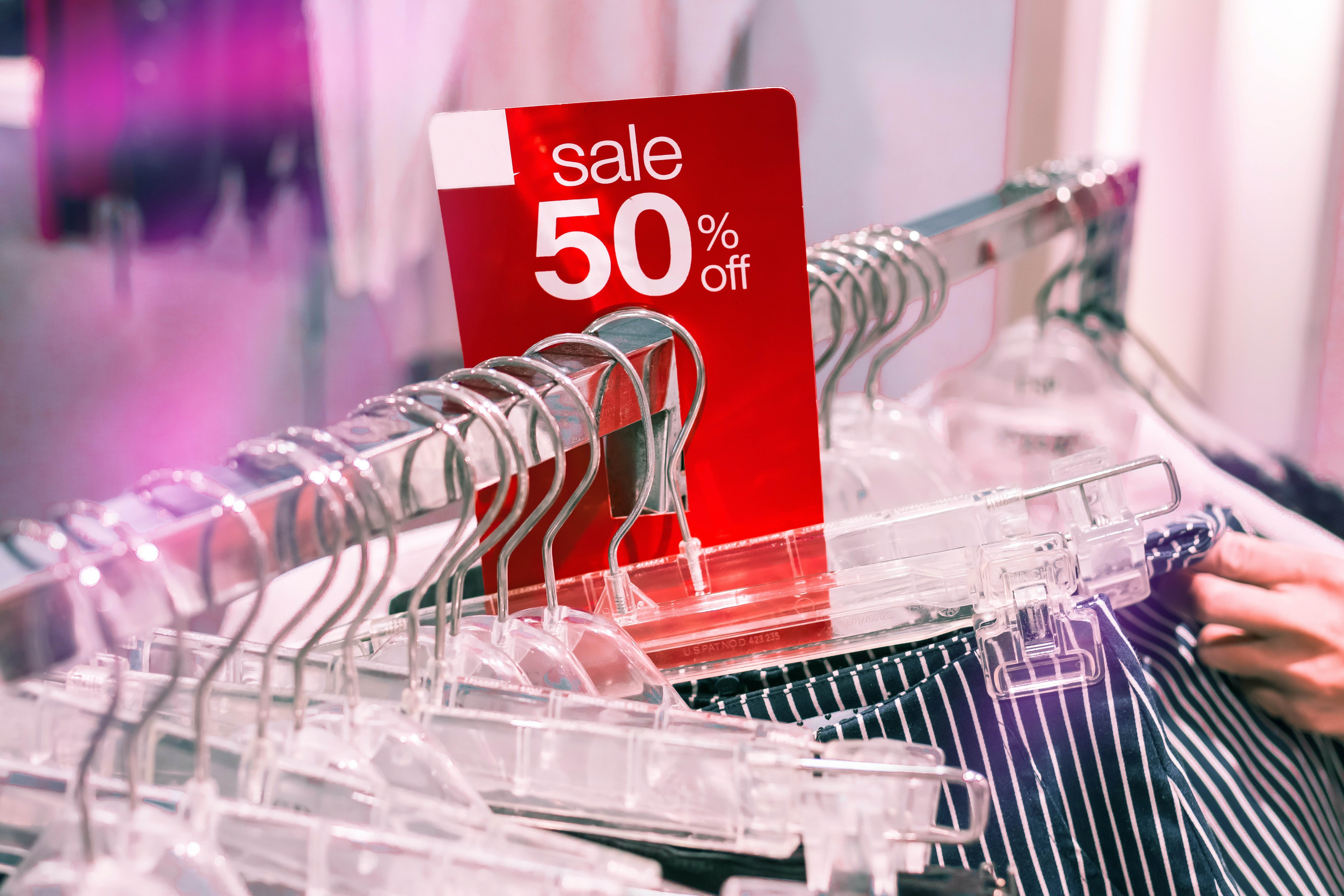 on sale clothing items