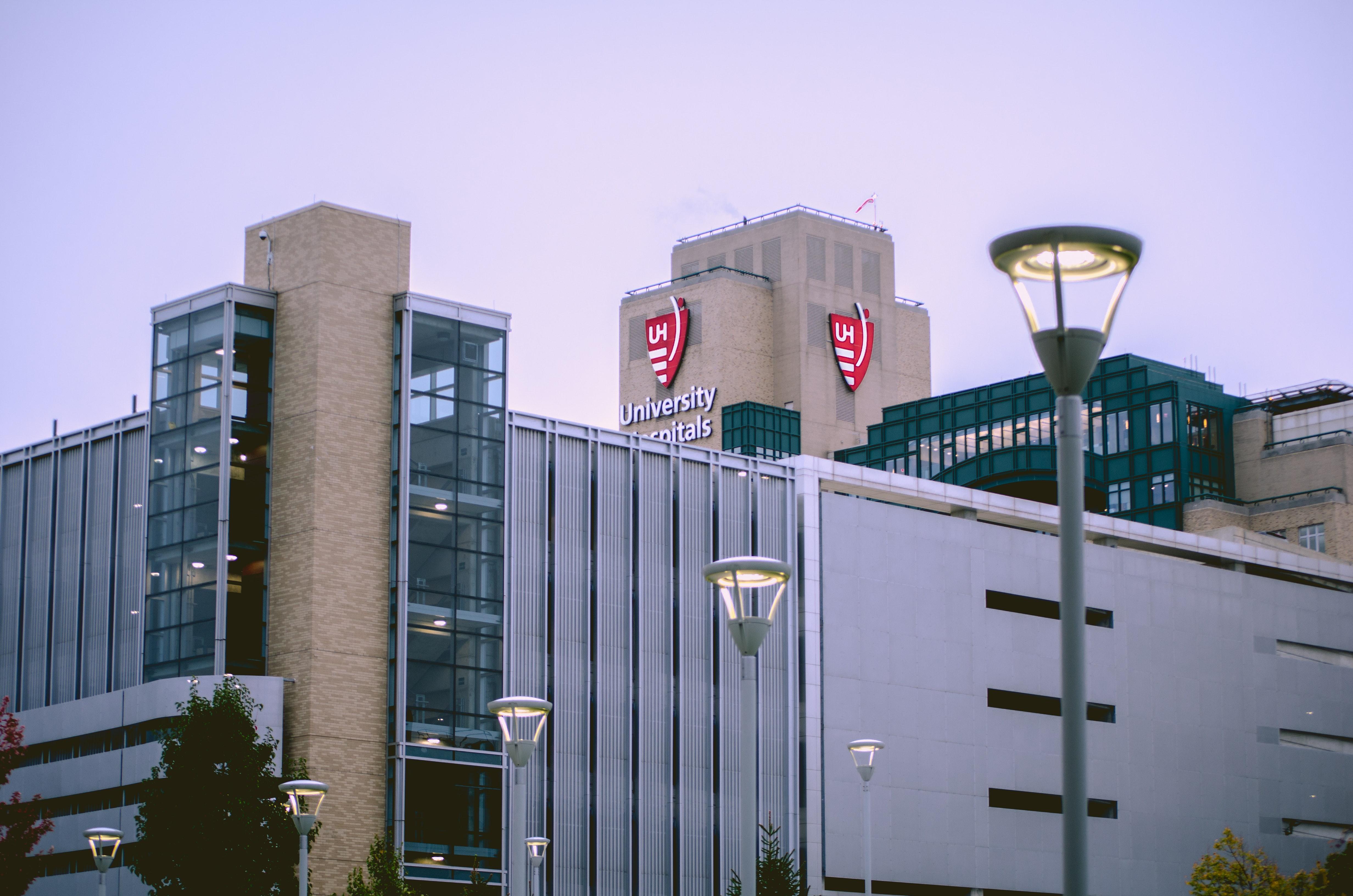 exterior hospital building
