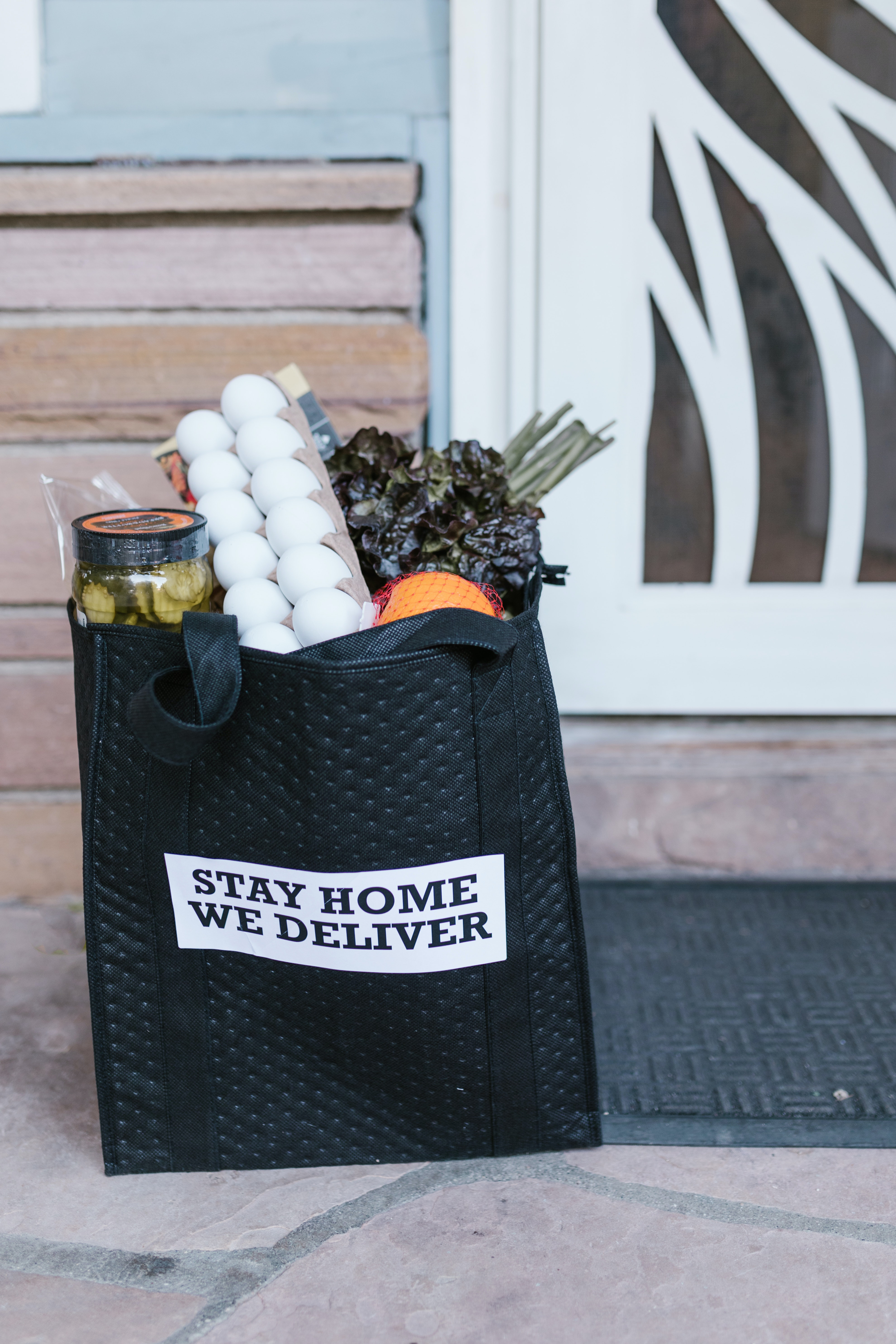 bagged grocery delivery service