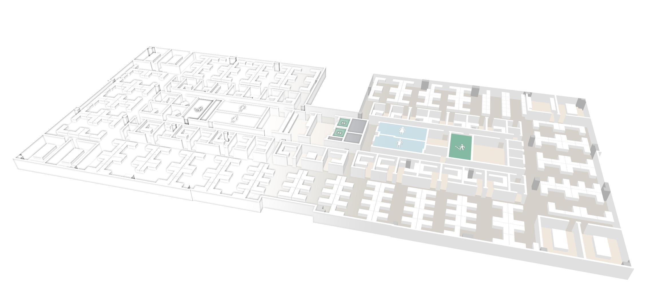 mappedin digital twin office map